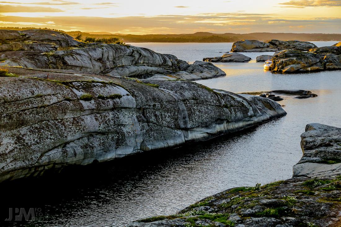September Sunset IV - Stauper, Vestfold