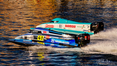 Edgaras Riabko (F2 Lithuania) og Bimba Sjöholm (Team Sjöholm)